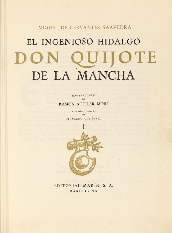 Don Quijote de la mancha - Miguel Cervantes
