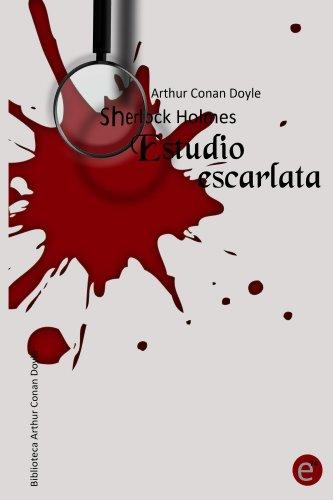 Estudio escarlata de Arthur Conan Doyle